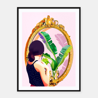 Thumbnail image of Soul Mirror Framed poster, Live Heroes