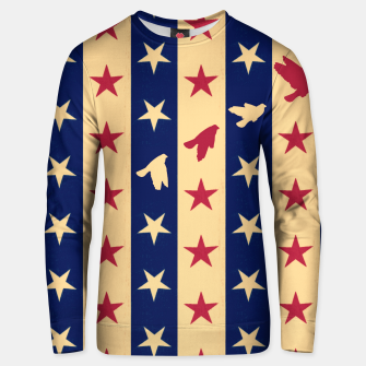 Thumbnail image of Stripes of Hope Cotton sweater, Live Heroes