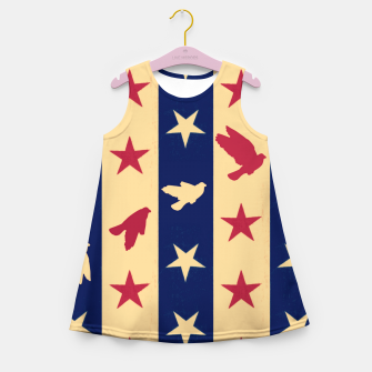 Thumbnail image of Stripes of Hope Girl's summer dress, Live Heroes