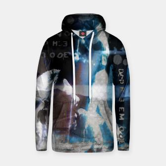 Thumbnail image of Depeche Mode collage Cotton hoodie, Live Heroes