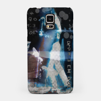 Miniatur Depeche Mode collage Samsung Case, Live Heroes