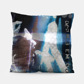 Miniatur Depeche Mode collage Pillow, Live Heroes