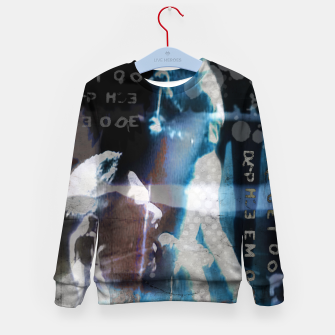 Miniatur Depeche Mode collage Kid's sweater, Live Heroes