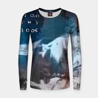 Miniatur Dave Gahan collage Woman cotton sweater, Live Heroes