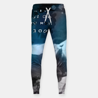 Miniatur Dave Gahan collage Cotton sweatpants, Live Heroes