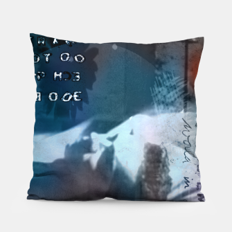 Miniatur Dave Gahan collage Pillow, Live Heroes