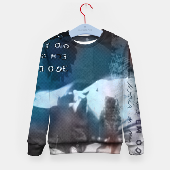 Miniatur Dave Gahan collage Kid's sweater, Live Heroes