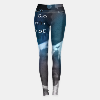 Miniatur Dave Gahan collage Leggings, Live Heroes