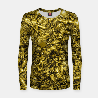 Thumbnail image of King's Ransom Woman cotton sweater, Live Heroes