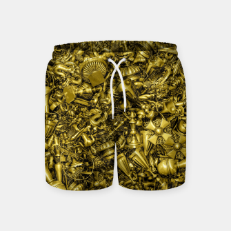 Thumbnail image of King's Ransom Swim Shorts, Live Heroes
