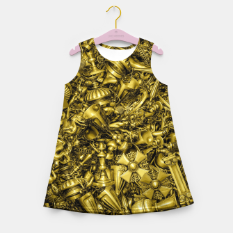 Thumbnail image of King's Ransom Girl's summer dress, Live Heroes