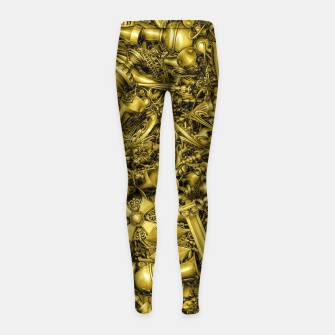 Thumbnail image of King's Ransom Girl's leggings, Live Heroes