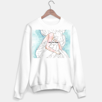 Thumbnail image of Let me sleep colored Sweater regular, Live Heroes
