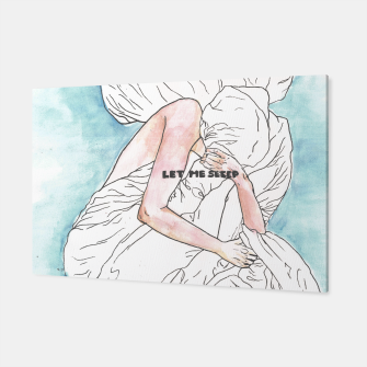 Thumbnail image of Let me sleep colored Canvas, Live Heroes