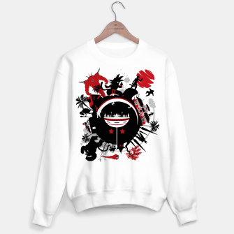 Miniatur Circle of Dragon Sudadera regular, Live Heroes