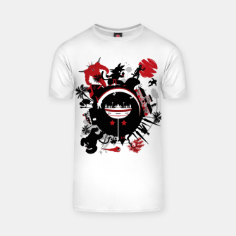 Miniatur Circle of Dragon Camiseta, Live Heroes