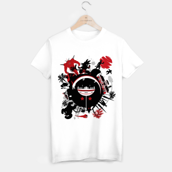 Miniatur Circle of Dragon Camiseta Regular, Live Heroes