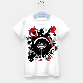 Miniatur Circle of Dragon Camiseta para niños, Live Heroes