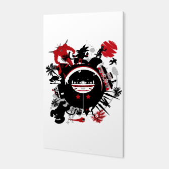Miniatur Circle of Dragon Canvas, Live Heroes