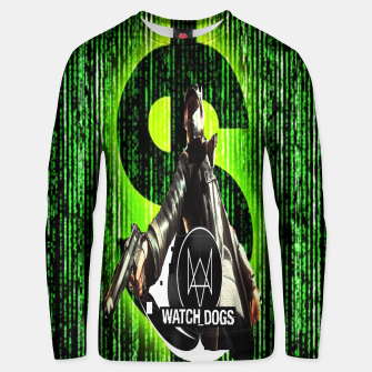 Thumbnail image of WATCH DOGS VS MATRIX 3D Cotton sweater, Live Heroes