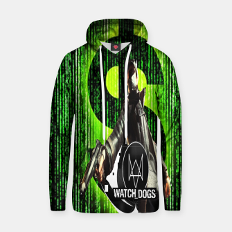 Thumbnail image of WATCH DOGS VS MATRIX 3D Cotton hoodie, Live Heroes