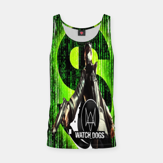 Thumbnail image of WATCH DOGS VS MATRIX 3D Tank Top, Live Heroes