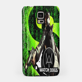 Thumbnail image of WATCH DOGS VS MATRIX 3D Samsung Case, Live Heroes