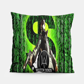 Thumbnail image of WATCH DOGS VS MATRIX 3D Pillow, Live Heroes