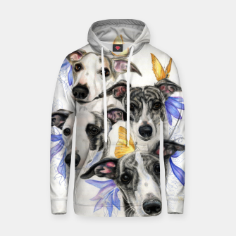 Miniatur Whippets Cotton hoodie, Live Heroes
