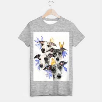 Thumbnail image of Whippets T-shirt regular, Live Heroes
