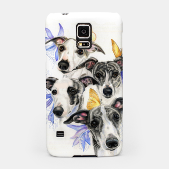 Miniatur Whippets Samsung Case, Live Heroes