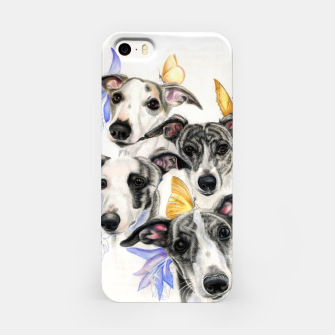 Miniatur Whippets iPhone Case, Live Heroes