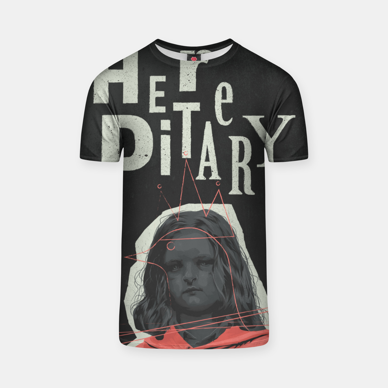 Image of hereditary T-shirt - Live Heroes