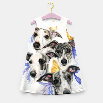 Thumbnail image of Whippets Girl's summer dress, Live Heroes