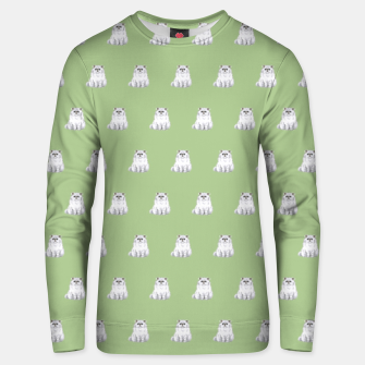 Thumbnail image of Persian cats pattern Cotton sweater, Live Heroes