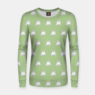 Thumbnail image of Persian cats pattern Woman cotton sweater, Live Heroes
