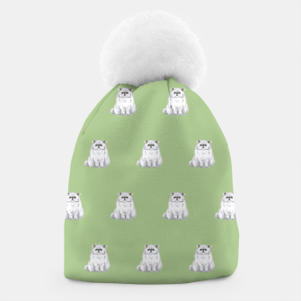 Thumbnail image of Persian cats pattern Beanie, Live Heroes
