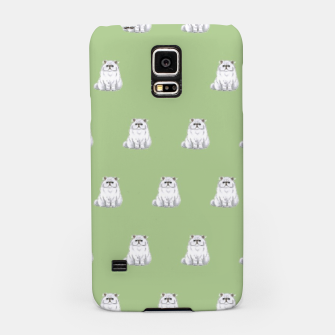 Thumbnail image of Persian cats pattern Samsung Galaxy Case, Live Heroes
