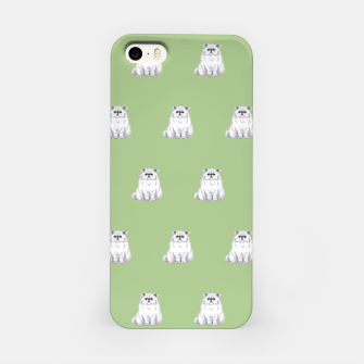 Thumbnail image of Persian cats pattern iPhone Case, Live Heroes
