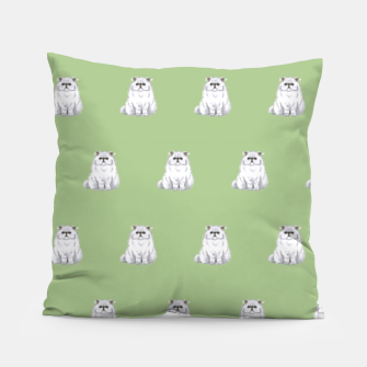 Thumbnail image of Persian cats pattern Pillow, Live Heroes