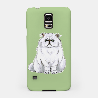 Thumbnail image of Persian cat Samsung Galaxy Case, Live Heroes