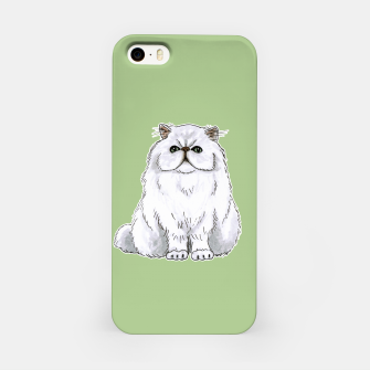 Thumbnail image of Persian cat iPhone Case, Live Heroes