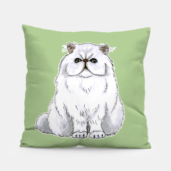 Thumbnail image of Persian cat Pillow, Live Heroes