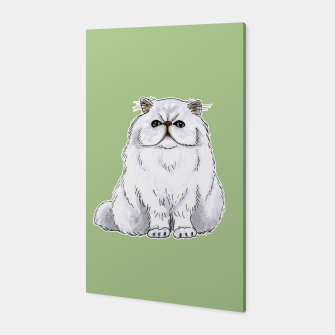 Thumbnail image of Persian cat Canvas Print, Live Heroes