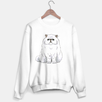 Thumbnail image of Persian cat Sweater regular white, Live Heroes