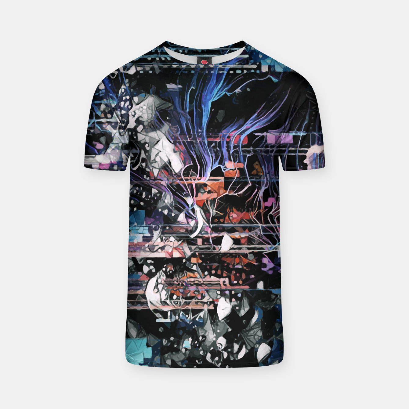 Image of Astronaut Apart T-shirt - Live Heroes
