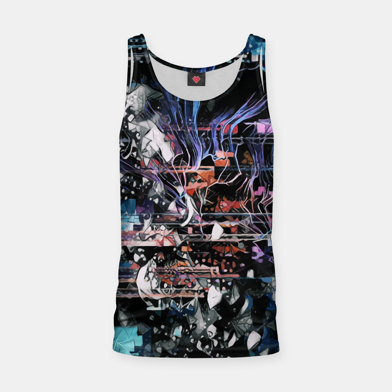 Image of Astronaut Apart Tank Top - Live Heroes