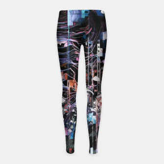 Thumbnail image of Astronaut Apart Girl's leggings, Live Heroes