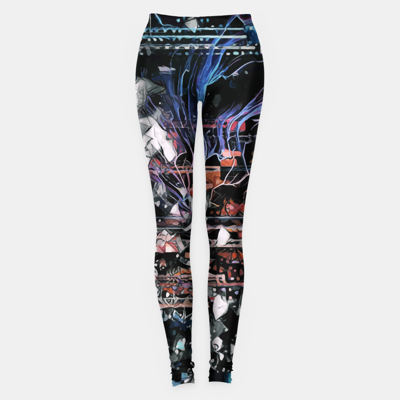 Image of Astronaut Apart Leggings - Live Heroes