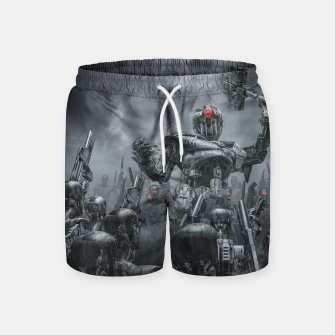 Thumbnail image of Once More Unto The Breach Swim Shorts, Live Heroes